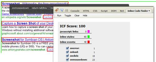 Inline Code Finder